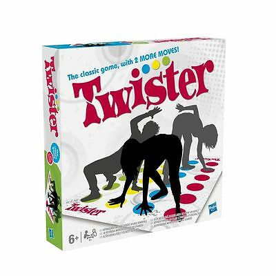 Twister The Classic Game With 2 More Moves Hasbro - NEW