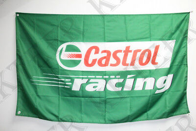 NEW Castrol Racing Flag Castrol Banner 3X5 Flags - Free Shipping