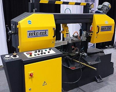 """New Ted Machines 12.5"""" Dual Column Automatic Band Saw"""