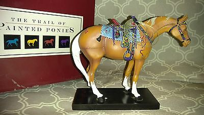 Trail of Painted Ponies-HAPPY TRAILS-5E/4205-RETIRED-with original box. Item1452