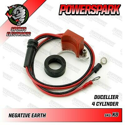 Powerspark Electronic Ignition Kit for Ducellier Distributor Land Rover Mini