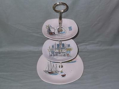 Midwinter Cannes 3-Tier Hostess Cake Plate Stand