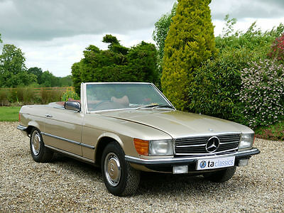 1972 Mercedes-Benz 350 SL. Only 62,000 Miles From New. Stunning Car.