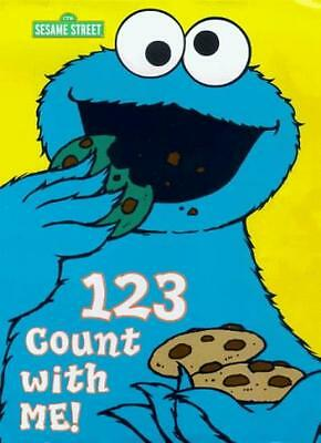 Sesame Street: 123, Count with Me! - Tab Index Book
