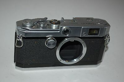Canon-L2 Vintage Japanese Rangefinder Camera Body. Service. 535291. UK Sale