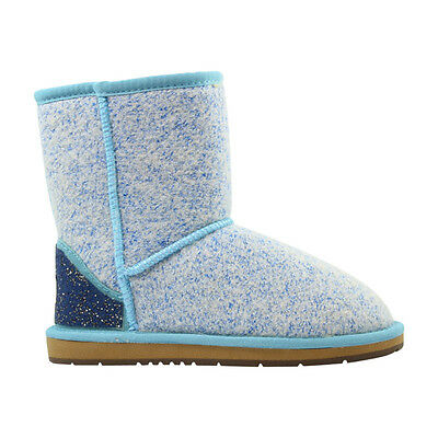 Ugg Boots Sheepskin Wool Classic Short Boot  - AUZLAND BIA Blue Ladies Size 5-9