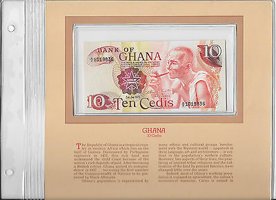 Most Treasured Banknotes Ghana 1978 10 Cedis P16f UNC Birthday 1983  A/2 1019836