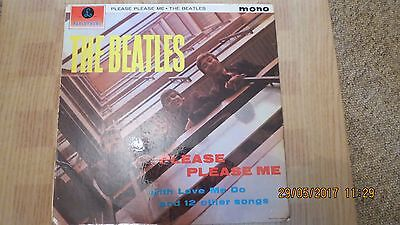THE BEATLES Please please me Parlophone PMC 1202 Gold label 1st Pressing