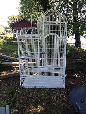 Bird cage large metal