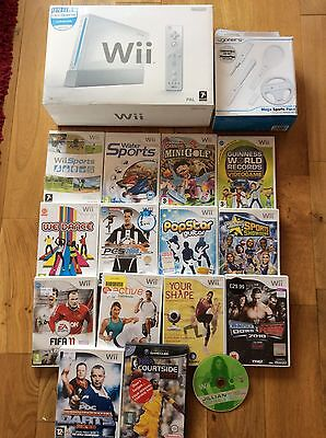 Boxed Nintendo Wii Console And 15 Games Including Wii Sports - Must Have Bundle
