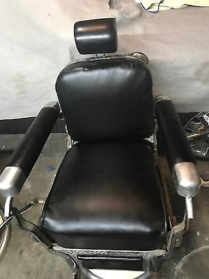 2 Antique Belmont Barber Chair's works perfectly for barber shop 1950's