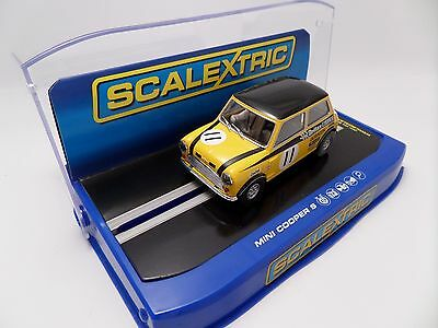 Scalextric C3640 Mini Cooper S No.11 Slot Car