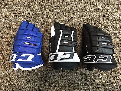 CCM 4-Roll Pro Hockey Glove *Multiple Sizes & Colors* *NEW*