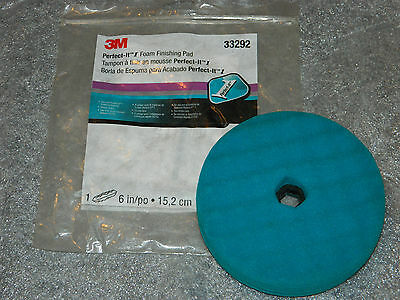 "(1) Brand New 3M 33292 Perfect-It 1 6"" Inch Finishing Pad Quick Connect Pad"