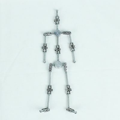 DIY kit of Stop Motion Animation Character metal Puppet Armature 28cm (high)