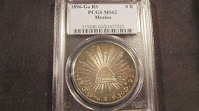 1896 Go Rs Mexico Libertad Pcgs 62 (Proof Like Surfaces)