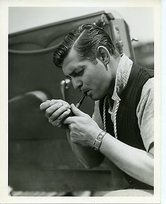 Clark Gable - 8x10 BW Original Photo by CLARENCE SINCLAIR BULL