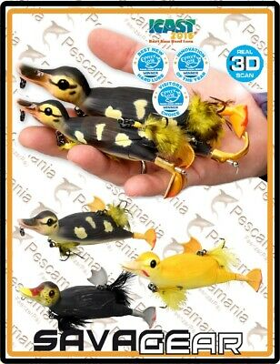 "Savage Gear ""3D SUICIDE DUCK"" 10.5cm 28gr artificiale spinning luccio bass"