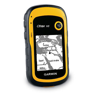 Garmin Etrex 10 Handheld GPS Worldwide Edition Basemap Outdoor Walking Hiking