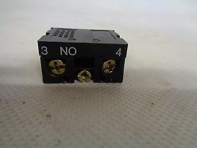 New Telemecanique Zb2-Be101 Contact Block N.o.