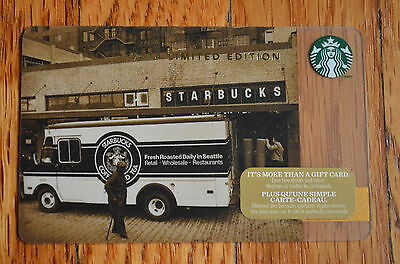 """Canada Series Starbucks """"TRADITIONS 2014"""" Gift Card - New No Value"""