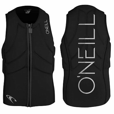 O'Neill Slasher Wakeboard/Kite Vest Collition protector Vest Neoprene Vest Black