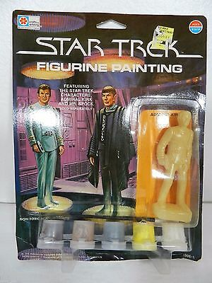 RARE NEW NOS Vintage Star Trek Figurine Painting Admiral Kirk - 1979 - CAPTAIN