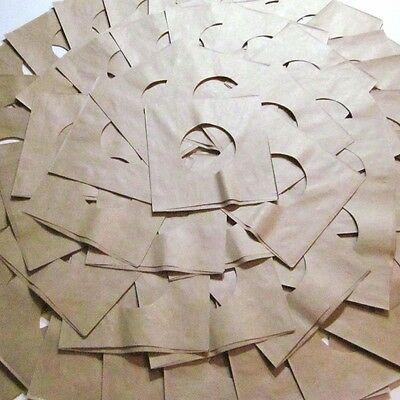 50 Brown USA Paper Sleeves - (wow) Fits Easily Inside Card Covers - 50 Brown USA