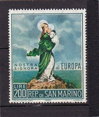 San Marino #653 Mnh Europa Cept 1966 (Our Lady Of Europe)