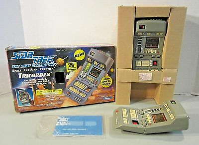 NOS 1993 Playmates Star Trek The Next Generation Tricorder-PLUS-Used Tricorder!!