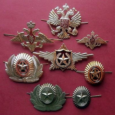Russian Emblems & cockardes of Armed forces of Russia, modern