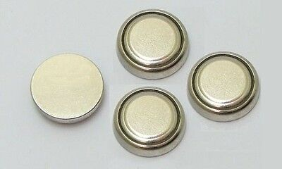 Dollhouse Miniature Lithium Battery for LED Lights Lighting 4 Pcs. 1:12 Scale
