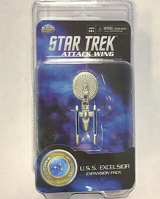 Star Trek ATTACK WING miniatures game USS EXCELSIOR expansion NEW 2017 VERSION