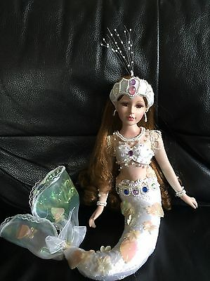 Collectable Porcelain Mermaid Doll