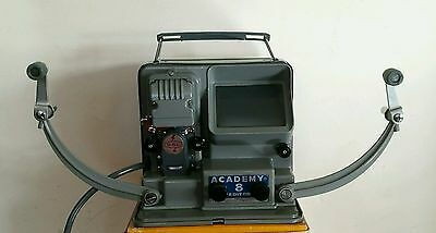 VINTAGE ACADEMY 8mm FILM EDITOR IN ORIGINAL BOX. FREE mainland UK POSTAGE