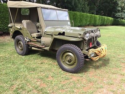 Willis Jeep 1947 Matching numbers THIS JEEP NOW SOLD