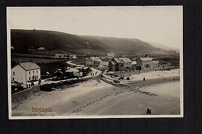 Pendine - real photographic postcard
