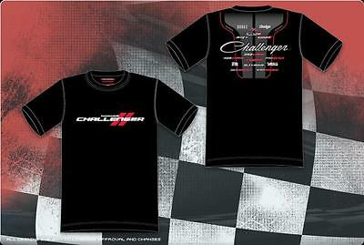 Size M Authentic Dodge Challenger Screen Printed JH Design T- Shirt M With Tag