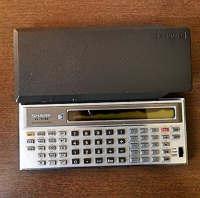 Vintage Sharp ElsiMate EL-5100 Scientific Calculator