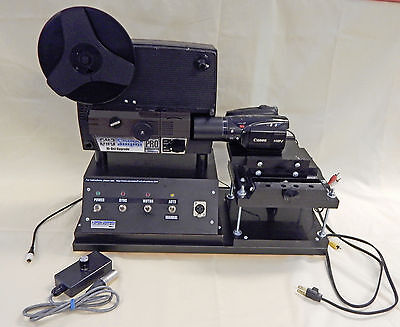 8mm Film SNIPER PRO HD Movie Scanner Projector For Video Capture By Moviestuff