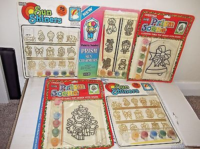 Joblot Craft House Paint By Number Crystal Prism Scene Sun Shiners Sun Charmers