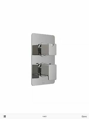 Reduced VADO Phase concealed thermostatic shower valve – PHA-148C-3/4-C/P