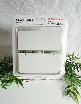 New Nintendo 3DS Cover Plate Zierblende Mario White Faceplate No10   NEU Sealed
