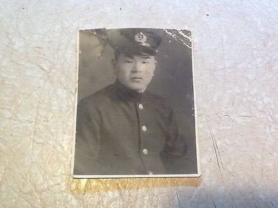 Rare WW 2 US Army Military Intelligence Service PHOTO OF WANTED JAPAN OFFICER