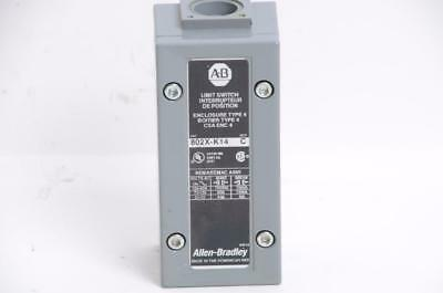 ALLEN BRADLEY LIMIT SWITCH 802X-K14 SER C Enclosure 4