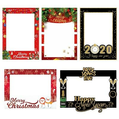 30 40 50th Birthday Party Photo Booth Props On A Stick Mustache Frame Game Decor