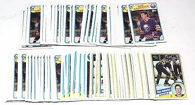 1984-1988 Topps Dave Andreychuk Lot Of 139 Cards 1985 1986 1987 Hky017