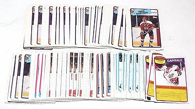 1980-1988 Topps Mike Gartner Lot Of 180 Cards 1981 1984 1985 1986 1987 Hky033