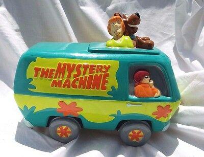 SCOOBY DOO MYSTERY MACHINE COOKIE JAR  Rare