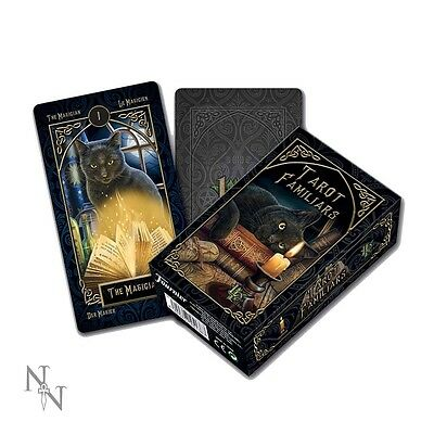 Nemesis Now Familiars Tarot Cards by Lisa Parker